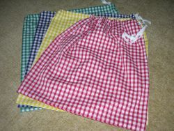 Pump Bag Gingham -